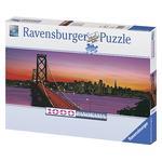 Ravensburguer – Puzzle 1000 Piezas – San Francisco – Golden Gate Bridge De Noche