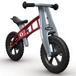 Bicicleta Sin Pedales Cross Rojo