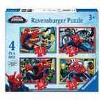 - Puzzle 4 En 1 – Spiderman Ravensburger