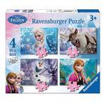 - Puzzle 4 En 1 – Frozen Ravensburger