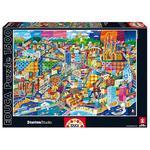 """Educa Borrás – Puzzle 1500 Piezas """"barcelona, Philip Stanton"""