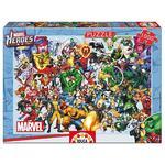 """Educa Borrás – Puzzle 1000 Piezas """"los Héroes De Marvel"""