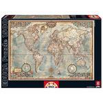 "Educa Borrás – Puzzle 1500 Piezas ""mapamundi"