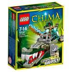 Lego Legends Of Chima – Bestia De La Leyenda Del Cocodrilo – 70126