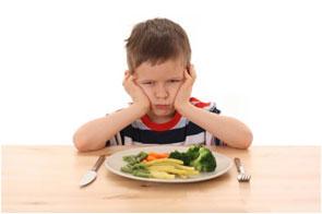 Hijo mal comedor