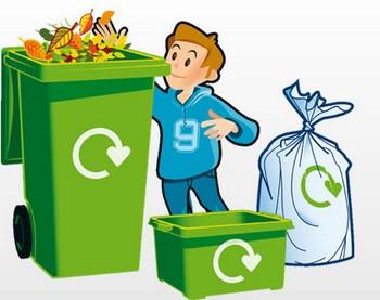Enseñando a reciclar