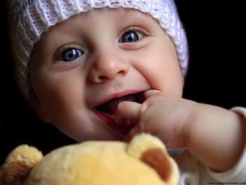 Bebé preparado para jugar