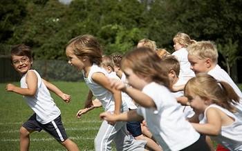 Niños competitivos